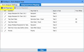 Assignment Form Processes Standard Tasks Form Assigner U2013 Integrify Help Center