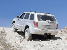 Grand Cherokee Off Road Tires 2008 Jeep Grand Cherokee Crd Suv Comparison Test Diesel Power