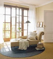 kids room romantic reading nook design with cool cream lounge