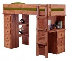 Bunk Bed With Desk And Drawers Loft Bed With Desk And Drawers Foter