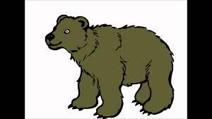 imagenes animadas oso el sonido del oso para niños animado youtube
