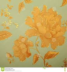 vintage shabby chic wallpaper with floral victorian pattern stock