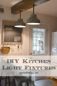 Industrial Lighting Fixtures For Kitchen Kitchen Diy Light Fixtures For Kitchen Diy Recessed Lighting