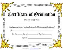 ministry of the gospel templates free printable certificate of