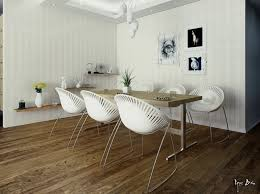 White Dining Chairs Modern White Dining Chairs Interior Design Ideas
