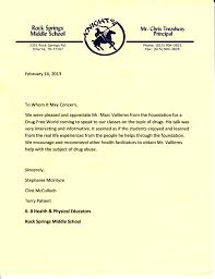 best ideas of student recommendation letter sample for middle