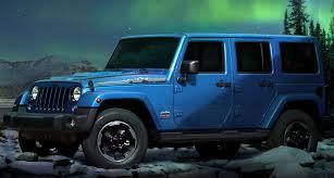 jeep arctic blue jeep wrangler polar edition for europe revealed ahead of frankfurt