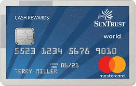 personal credit card suntrust credit cards