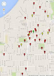 Neighborhoods Seattle Map by Garage Sale Crown Hill Neighborhood Association