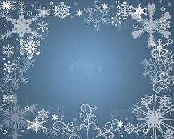 snowflake frame blue white frozen print snowflake overlay