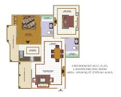 Floor Plan Of Child Care Centre by Classic Residency Shree Energy Group