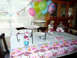 hello kitty birthday decoration ideas decorating of party