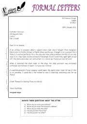bunch ideas of formal and informal letter writing worksheets with