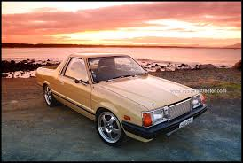 Subaru Brat Brumby Turbo Fitted With Subaru Wrx Engine Bratty
