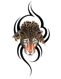 collection of 25 leopard executed in the form of a tribal