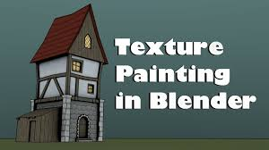 House Texture by Hand Painting Tileable Textures In Blender 2 74 Youtube