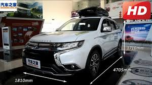 outlander mitsubishi 2018 all new 2018 mitsubishi outlander 2wd interior and exterior