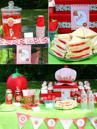 strawberry shortcake birthday party ideas diy strawberry shortcake birthday party ideas party ideas
