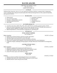 Home Depot Resume Sample by Retail Sales Associate Resume Sample Resume Job Description For