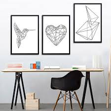 geometric home decor modern art design canvas art print wall pictures home decoration