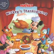 mickey s thanksgiving board book kate ritchey target