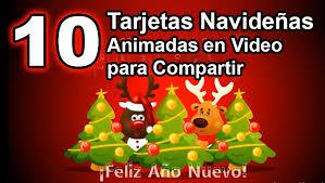 imagenes animadas de navidad para compartir tarjetas navideñas animadas para compartir 10 tarjetas navideñas