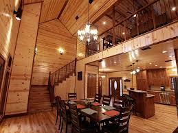 open floor plan with loft homepeek