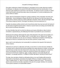 funeral obituary templates 11 obituary templates word excel pdf formats