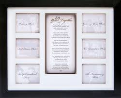 50 years together 50th anniversary frame