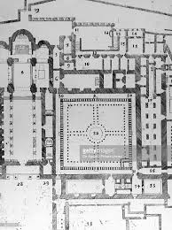 Cathedral Floor Plan Floor Plan Of The Monreale Cathedral Pictures Getty Images
