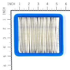 amazon com briggs u0026 stratton 491588s flat air filter cartridge