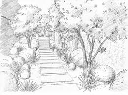 How To Draw Landscapes by Landscape Drawing For Beginners Step By Step Articlespagemachinecom