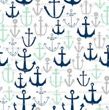 nautical design baby anchors mint navy and grey anchor fabric nautical design baby