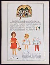magazine paper dolls at bears dolls