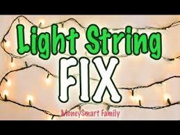 light string hack fix or repair light strings w dead