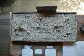 Ryoanji Rock Garden Model Of The Rock Garden Picture Of Ryoanji Temple Kyoto