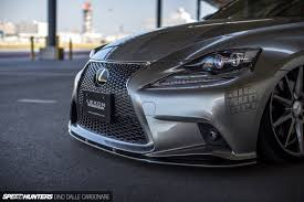 lexus is250 f sport front lip a touch of individuality lexon style speedhunters