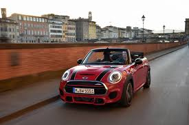 john cooper works variant added to new mini convertible range