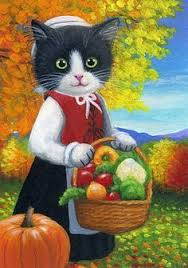 thanksgiving cats paintings search vegan thanksgiving