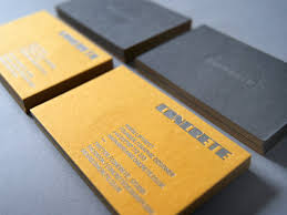 concrete business cards concrete business cards dansupport