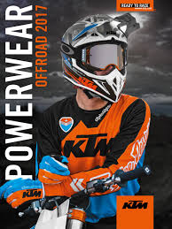 ktm motocross helmets ktm powerwear offroad catalog 2017 english by ktm sportmotorcycle