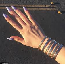 cartier bracelet images Kylie jenner reveals she has been locked in her 5 000 cartier jpg