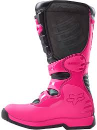 womens fox motocross gear fox black pink 2018 comp 5 womens mx boot fox freestylextreme