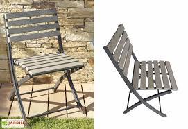 chaise jardin bois chaise jardin pliante bois composite chaise pliante compo lame
