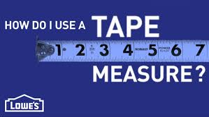 how do i use a tape measure diy basics youtube
