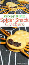 spider crackers fun halloween party treat recipe