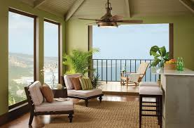 Outdoor Patio Ceiling Ideas by Antique Ceiling Fans With Grass Rug For Elegant Patio Ideas With