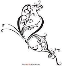 celtic swirl 60 butterfly tattoos feminine and tribal