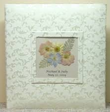 Photo Albums For Babies Personalized Photo Albums With Real Pressed Flowers From 45