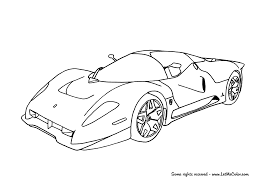 car ferrari drawing coloring ferrari u2013 letmecolor